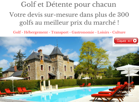Week end de golf en France au meilleur prix