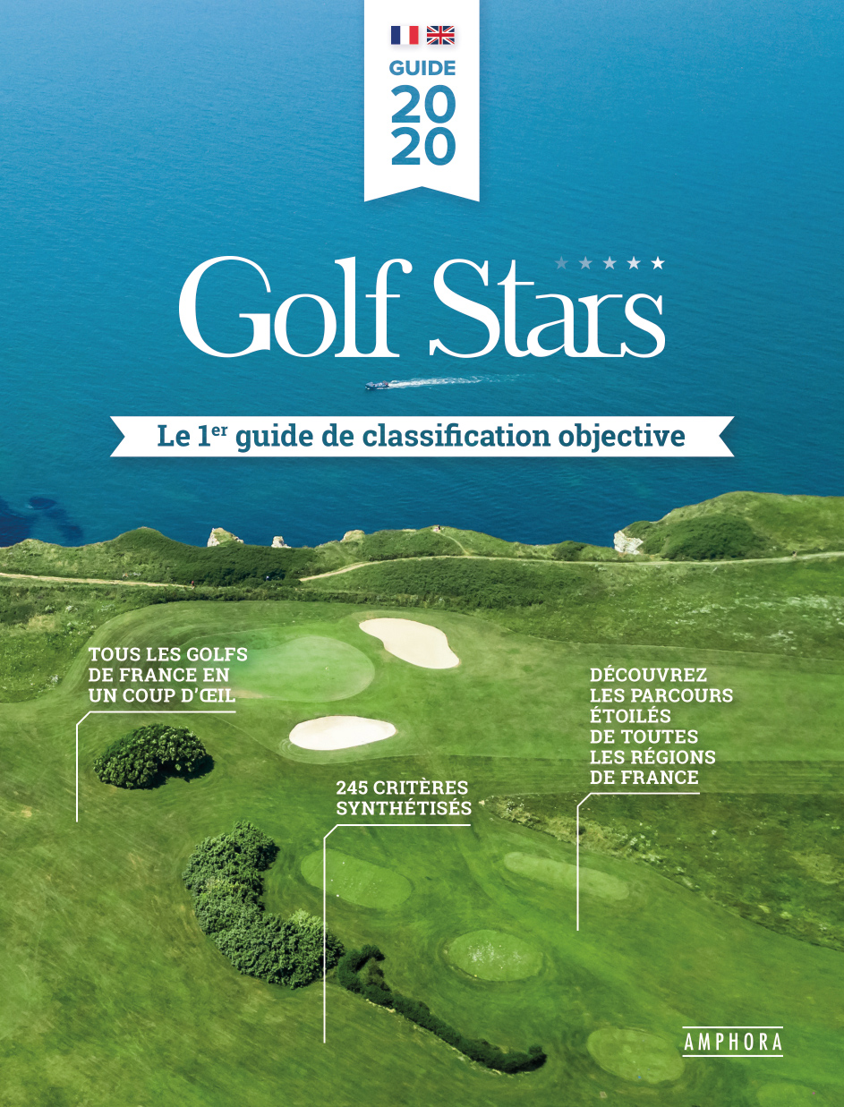 Cover of the golf courses guide France edition